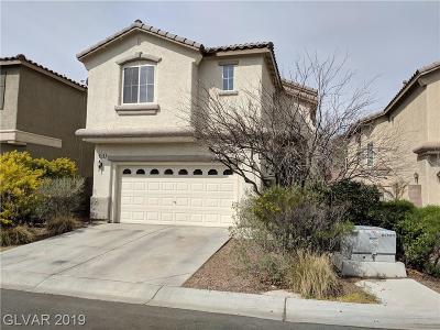 Las Vegas Single Family Home For Sale: 8149 Marshall Canyon Drive