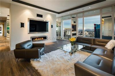 Resort Condo At Luxury Buildin High Rise For Sale: 3750 South Las Vegas Boulevard #3108