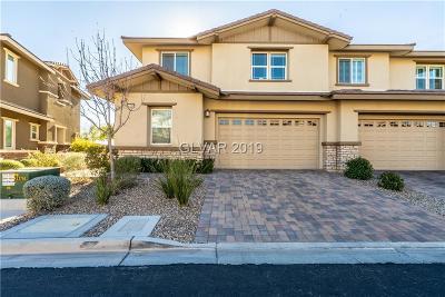 Las Vegas Condo/Townhouse For Sale: 10351 Pescado Lane