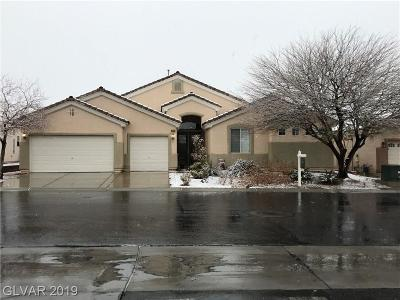 Las Vegas NV Single Family Home For Sale: $510,000