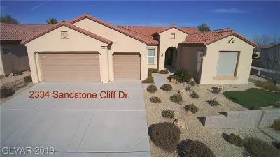 Single Family Home For Sale: 2334 Sandstone Cliffs Drive