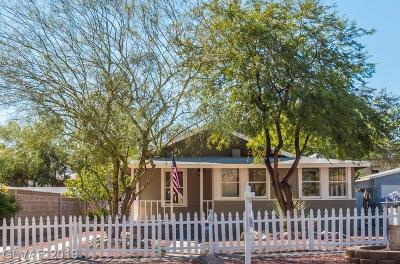 Boulder City Single Family Home For Sale: 628 California Avenue