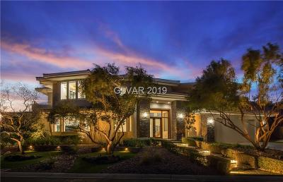 Las Vegas Single Family Home For Sale: 9 Soaring Bird Court