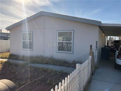 Las Vegas Single Family Home Under Contract - Show: 2261 Castleberry Lane