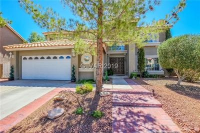 Las Vegas Single Family Home Under Contract - No Show: 9425 Low Tide Court