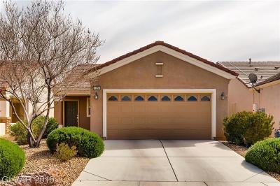 North Las Vegas Single Family Home For Sale: 7378 Grassquit Street