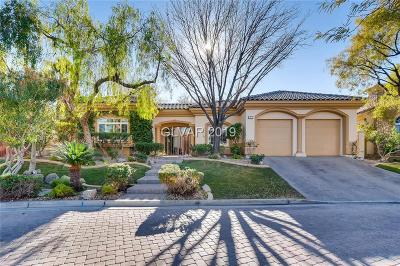 Henderson Single Family Home For Sale: 7 Circa De Montanas