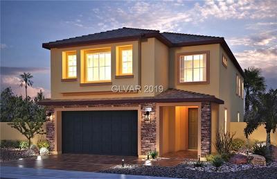 North Las Vegas Single Family Home For Sale: 4515 Stardusk Falls Avenue #Lot 51