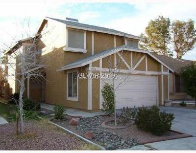 Las Vegas NV Single Family Home Under Contract - No Show: $235,000