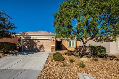 North Las Vegas Single Family Home For Sale: 2828 Horned Owl Way