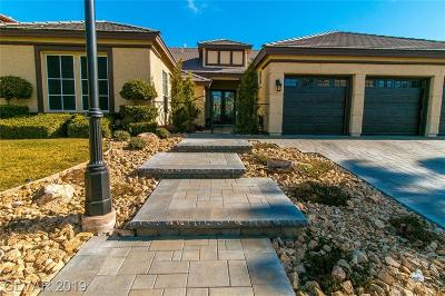 Las Vegas Single Family Home Under Contract - No Show: 1508 Castle Wall Street