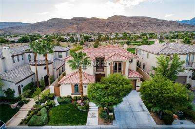 Red Rock Cntry Club At Summerl Single Family Home For Sale: 2829 Soft Horizon Way