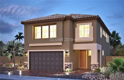 North Las Vegas Single Family Home For Sale: 4520 Stardusk Falls Avenue #Lot 284