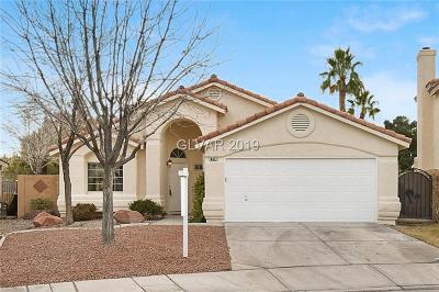 Las Vegas Single Family Home For Sale: 4417 Ornate Court