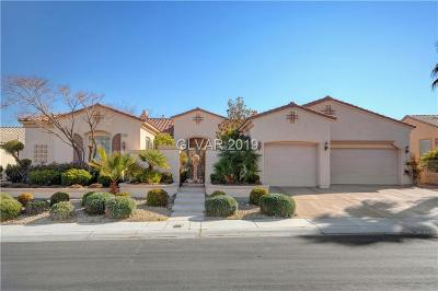 Clark County Single Family Home Sold: 4796 Riva De Romanza Street