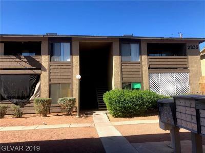 Las Vegas Multi Family Home For Sale: 2835 Wheelwright Drive