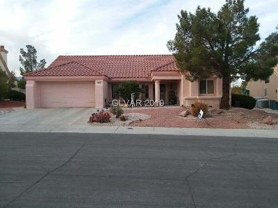 Sun City Summerlin Single Family Home For Sale: 2525 Denham Drive