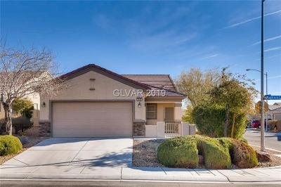 North Las Vegas Single Family Home Under Contract - Show: 7640 Chaffinch Street