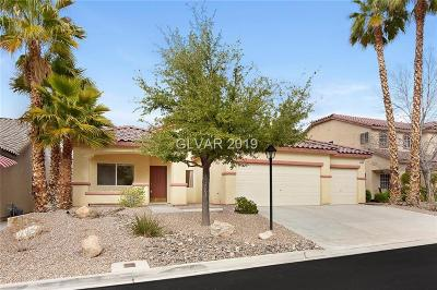 Las Vegas Single Family Home For Sale: 5458 Levens Court