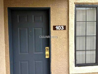Condo/Townhouse Under Contract - No Show: 2141 Hussium Hills Street #103