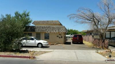 Boulder City Multi Family Home For Sale: 552 Date Street