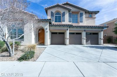 Las Vegas NV Single Family Home For Sale: $534,900
