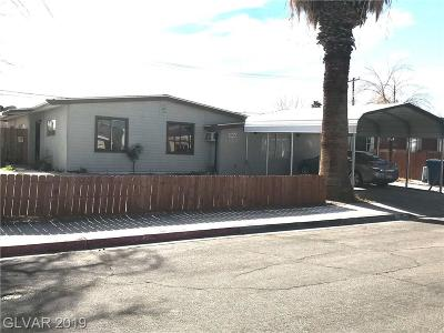 Las Vegas Single Family Home For Sale: 5901 Gipsy Avenue