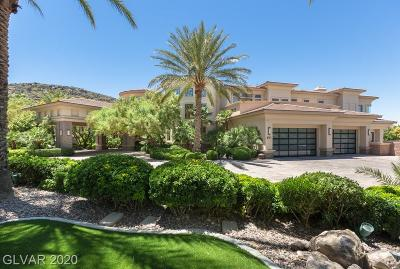 Boulder City, Henderson, Las Vegas, North Las Vegas Single Family Home For Sale: 1187 Macdonald Ranch Drive