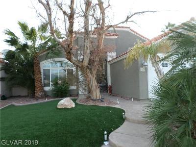 North Las Vegas Single Family Home For Sale: 3613 Red Coach Avenue
