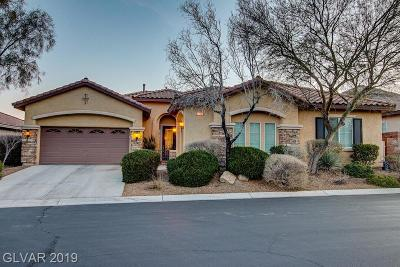 Las Vegas NV Single Family Home Under Contract - No Show: $500,000