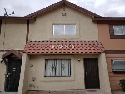 Las Vegas Condo/Townhouse For Sale: 894 Rhinegold Way