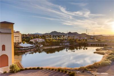 Viera Condo Amd, V At Lake Las Vegas, Mantova-Phase 1, Mantova-Phase 2, South Shore Villas Amd, Luna Di Lusso Condo 2nd Amd, Luna Di Lusso Condo 3rd Amd, Parcel 6n-4-A Vita Bella Condo/Townhouse For Sale: 29 Montelago Boulevard #403