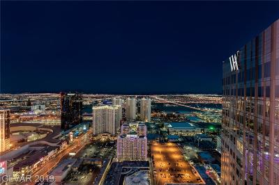 Resort Condo At Luxury Buildin High Rise For Sale: 3750 South Las Vegas Bl Boulevard #4606