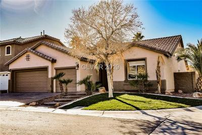 Las Vegas Single Family Home Under Contract - No Show: 11109 Cataya Court