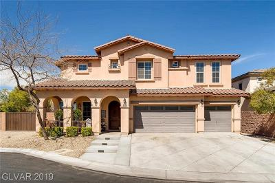 Las Vegas NV Single Family Home For Sale: $494,800