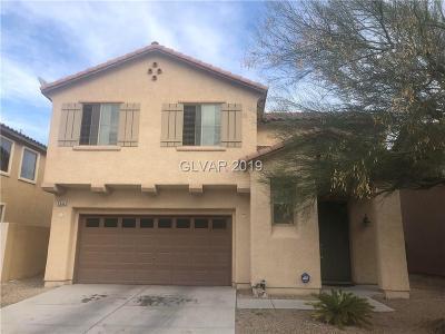 North Las Vegas Single Family Home For Sale: 5544 Grand Rapids Street