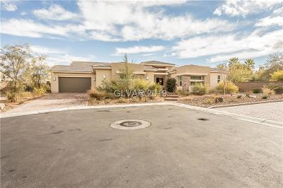 Las Vegas Single Family Home For Sale: 8396 Sweetwater Creek Way