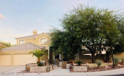 Las Vegas Single Family Home For Sale: 102 Chateau Whistler Court