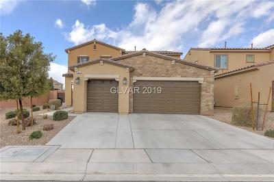 North Las Vegas Single Family Home For Sale: 6633 Dome Rock Street