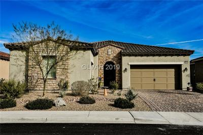 Henderson, Las Vegas, North Las Vegas Single Family Home For Sale: 8430 Golden Brook Street