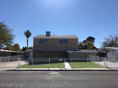 Single Family Home For Sale: 2205 McWilliams Avenue