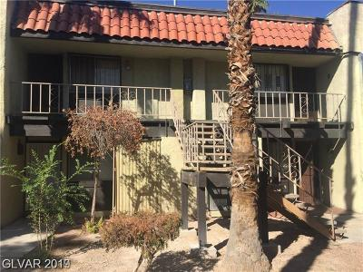 Las Vegas Condo/Townhouse For Sale: 1405 Vegas Valley Drive #335