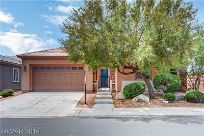 North Las Vegas Single Family Home For Sale: 4157 Cackling Goose Drive