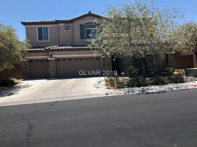 Las Vegas NV Single Family Home Under Contract - No Show: $539,000