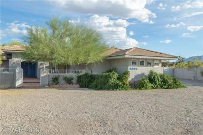Las Vegas Single Family Home For Sale: 9865 Elkhorn Road