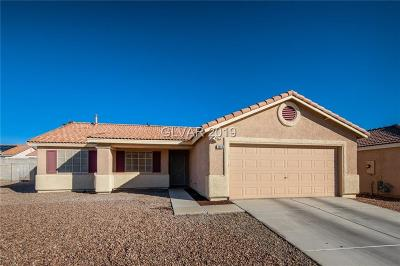North Las Vegas Single Family Home For Sale: 2924 Yukon Flats Court