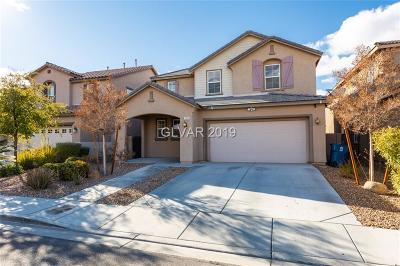 Las Vegas NV Single Family Home For Sale: $505,000