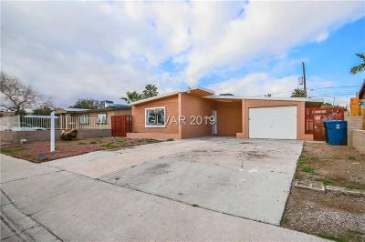 North Las Vegas Single Family Home For Sale: 2633 Magnet Street