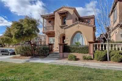 Las Vegas NV Single Family Home For Sale: $570,000