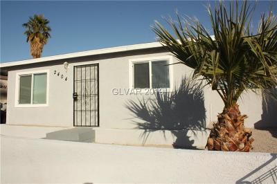 North Las Vegas Single Family Home For Sale: 2404 St George Street